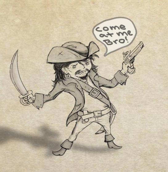 A little Pirate
